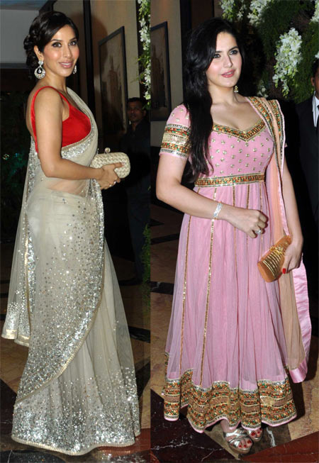 Sophie Choudry and Zarine Khan