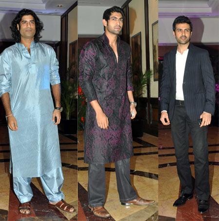 Sikander Kher, Rana Daggubati and Harman Baweja