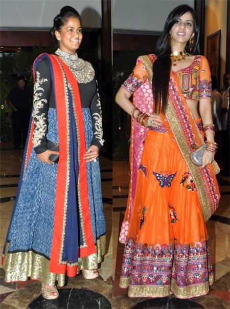 Arpita Khan and Nishka Lulla