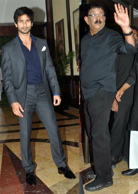 Shahid Kapoor and Priyadarshan