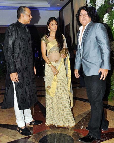 Ashutosh Gowariker, Suniat Gowariker and Sajid Khan