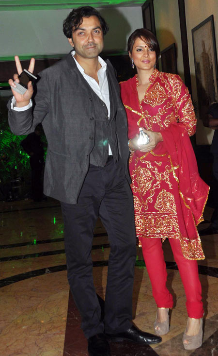 Bobby and Tanya Deol