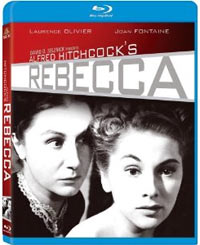 The Rebecca Blu-ray cover