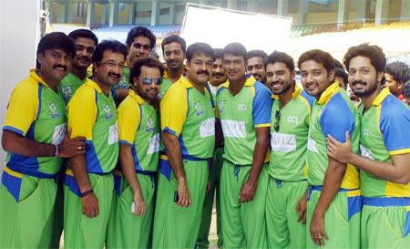 The team of Kerela Strikers