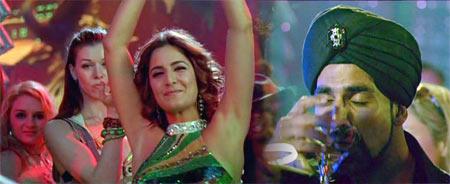 Akshay Kumar and Katrina Kaif in Singh is Kinng