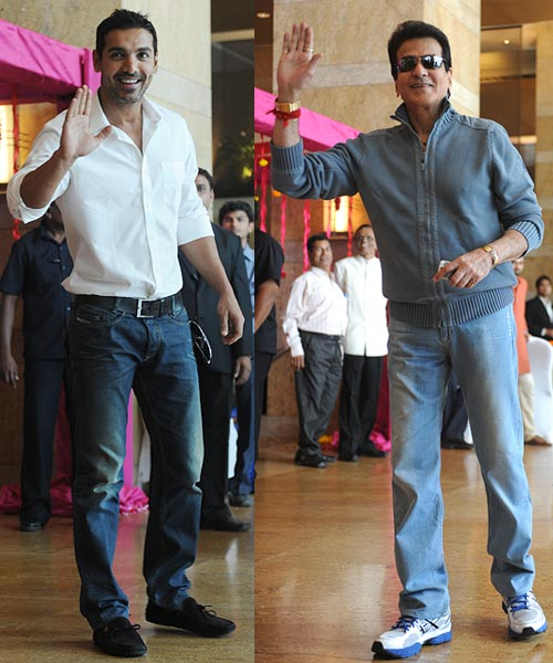John Abraham and Jeetendra