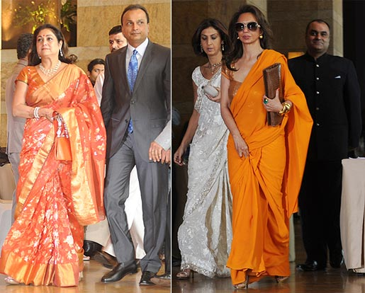 Tina and Anil Ambani, Parmeshwar Godrej