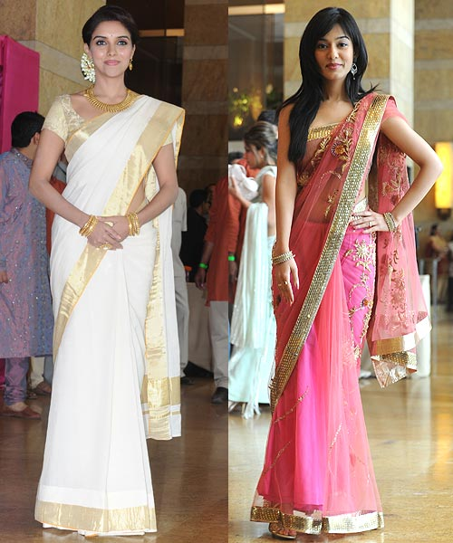 Asin and Amrita Rao