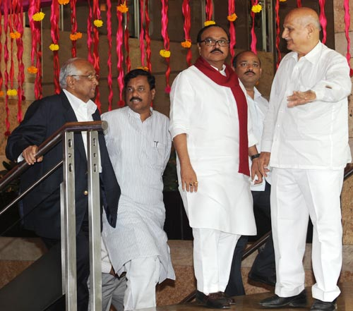 Sharad Pawar and Chhagan Bhujbal
