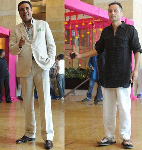 Boman Irani and Sujoy Ghosh