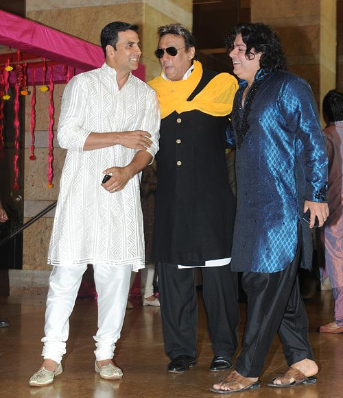 Akshay Kumar, Jackie Shroff and Sajid Khan