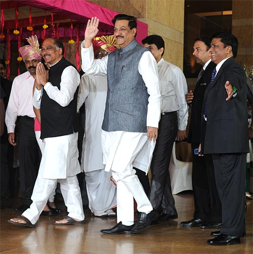 Manikrao Thakre and Prithviraj Chavan