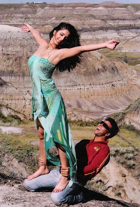 Katrina Kaif and Akshay Kumar in Humko Deewana Kar Gaye