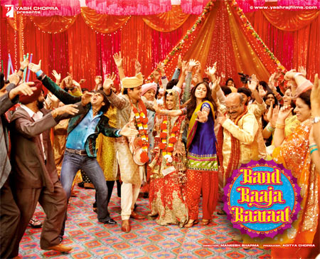 Movie poster of Band Baaja Baraat