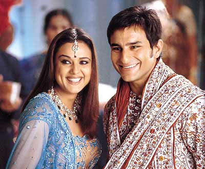 Preity Zinta and Saif Ali Khan in Kal Ho Naa Ho