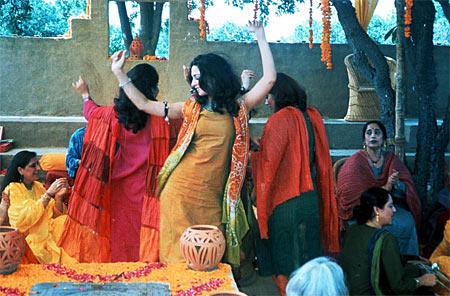 Neha Dubey in Monsoon Wedding