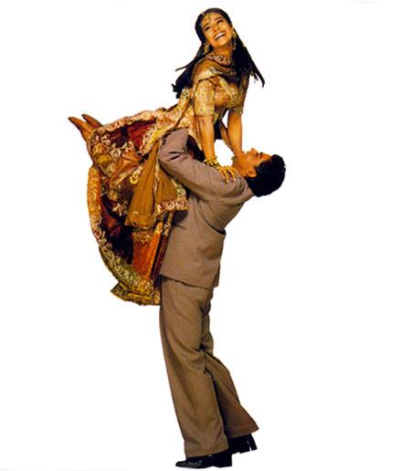 Kajol and Shah Rukh Khan in Kuch Kuch Hota Hai