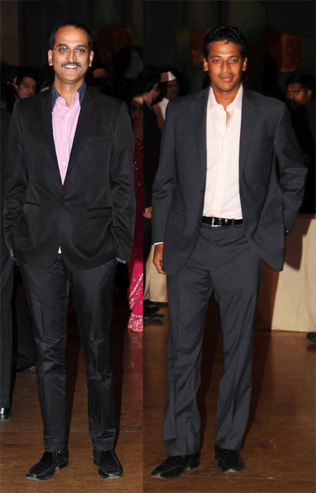 Rohan Sippy and Mahesh Bhupathi
