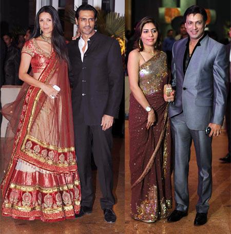 Mehr Jessia, Arjun Rampal, Renu and Madhur Bhandarkar