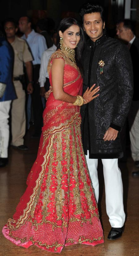 Genelia D'Souza and Ritiesh Deshmukh