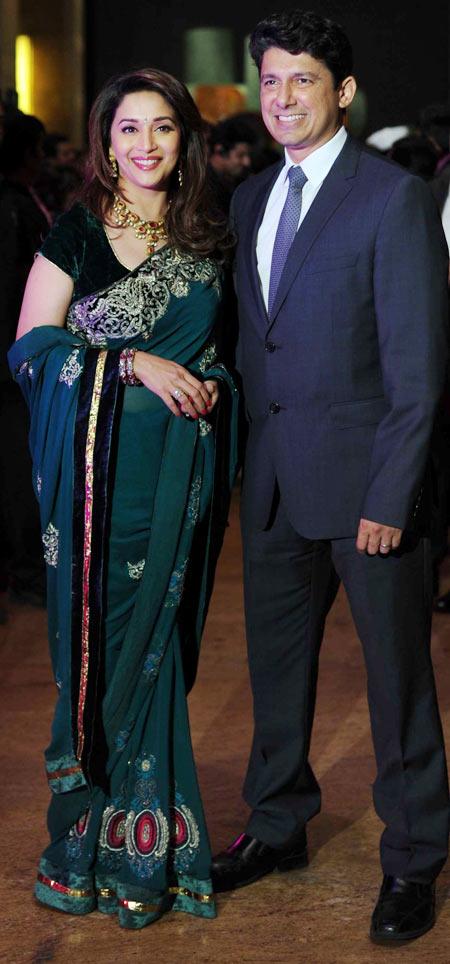 Madhuri Dixit and Dr Sriram Nene