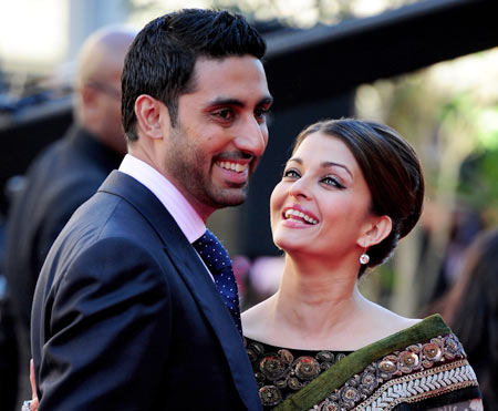 Abhishek Bachchan and Aishwarya Rai Bachchan
