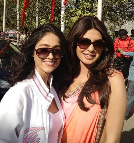 Ileana D'Cruz and Priyanka Chopra