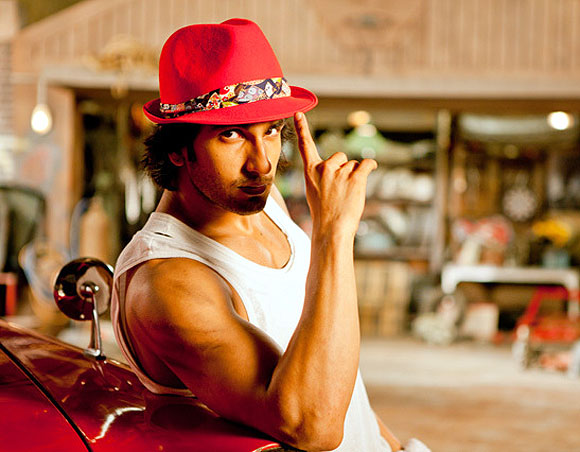 Ranveer Singh in Ladies v/s Ricky Bahl
