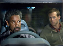 Denzel Washington and Ryan Reynolds in Safe house
