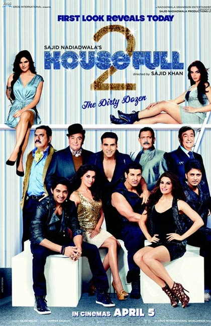 Movie poster of Housefull-2