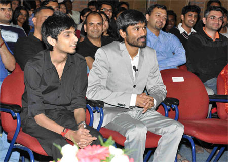 Anirudh and Dhanush