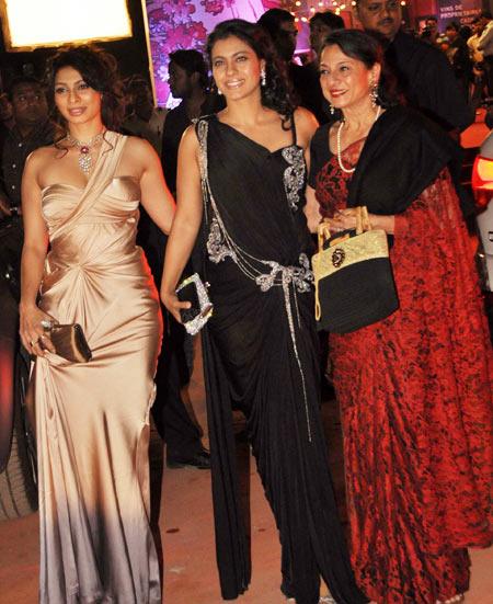 Tanisha, Kajol and Tanuja