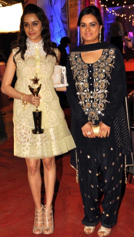 Shraddha Kapoor and Padmini Kolhapure