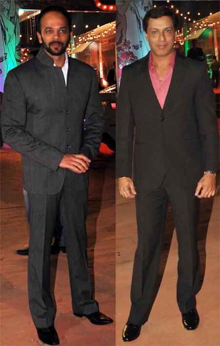Rohit Shetty and Madhur Bhandarkar