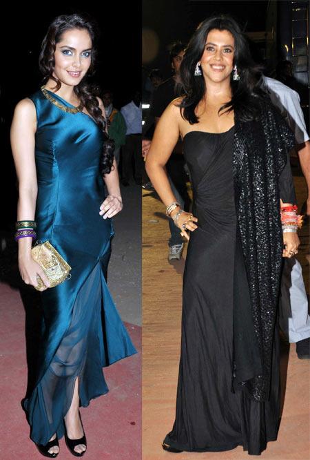Shazahn Padamsee and Ekta Kapoor
