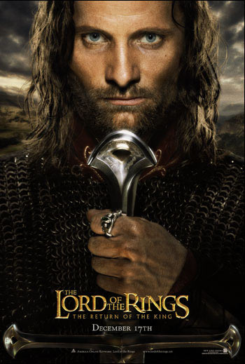 Movie poster of The Lord Of The Rings: Return Of The King
