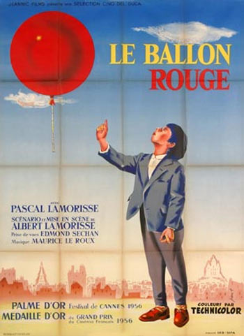 Movie poster of Le Ballon Rouge
