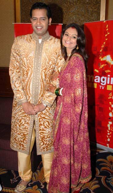 Rahul Mahajan and Dimpy Ganguly