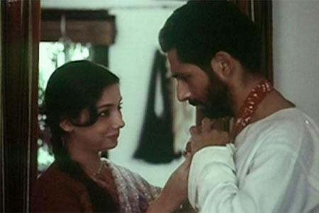 Shabana Azmi and Naseeruddin Shah in Sparsh