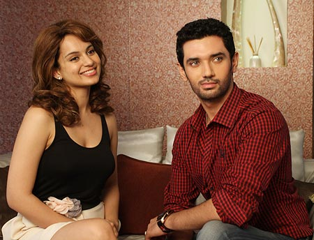 Kangna Ranaut and Chirag Paswan in Mile Na Mile Hum