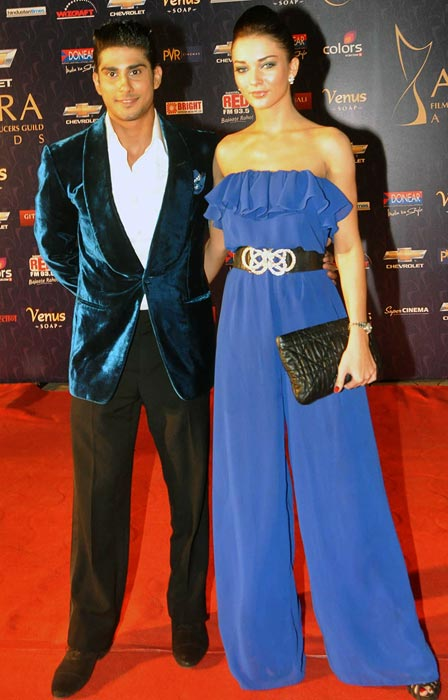 Prateik and Amy Jackson