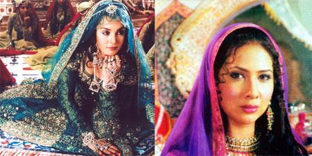 Kim Sharma and Soniya Jehan in Taj Mahal: An Eternal Love Story