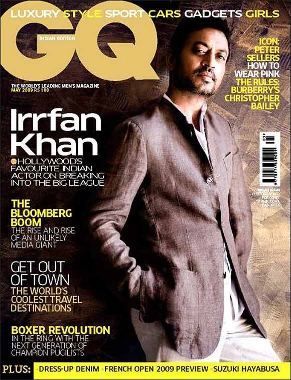 Irrfan Khan on GQ cover