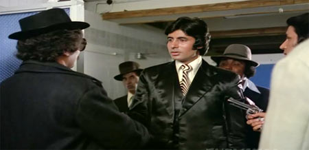 Amitabh Bachchan in The Great Gambler