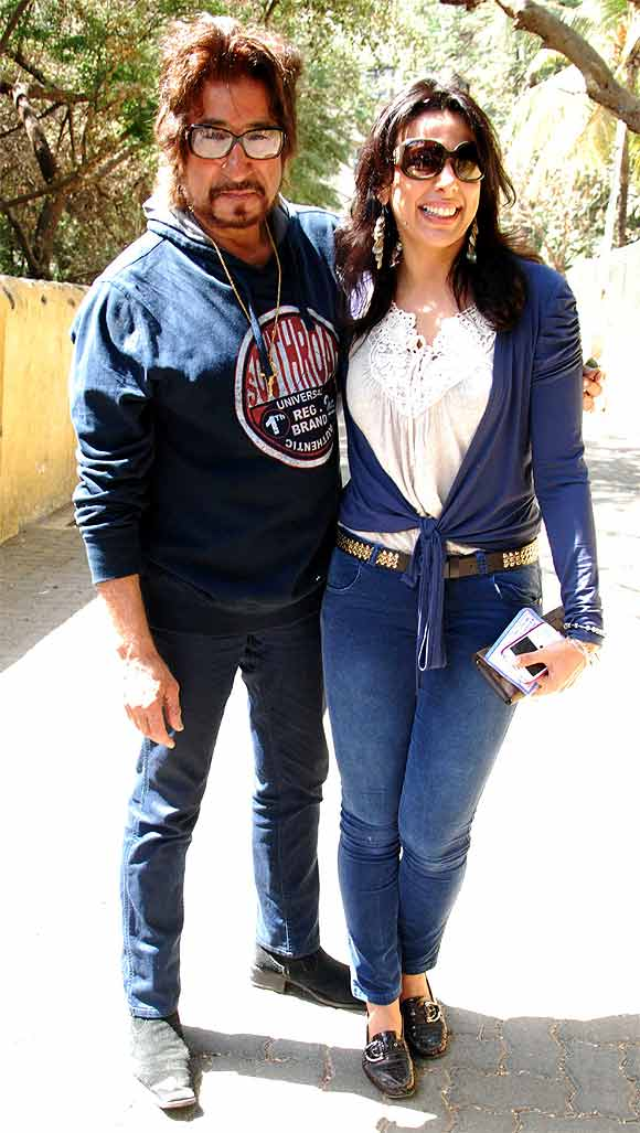 Shakti Kapoor and Pooja Bedi