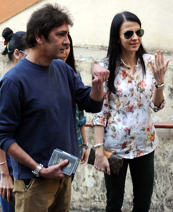 Kumar Gaurav and Namrata Dutt