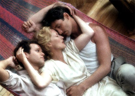 Peter MacNicol, Meryl Streep and Kevin Kline in Sophie's Choice