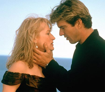 Meryl Streep and Dennis Quaid in Postcards From The Edge