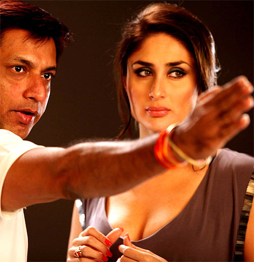 Madhur Bhandarkar and Kareena Kapoor