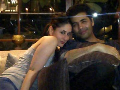 Kareena Kapoor and Karan Johar